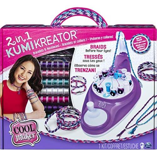 Cool Maker Kumikreator 2 in 1, Macchina per Creare Braccialetti dell'Amicizia e Collane, dagli 8 anni in su