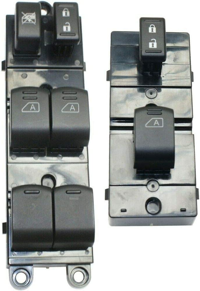 AntsGroup Power Window Switch Front Driver Passenger LH Side R New products Manufacturer regenerated product world's highest quality popular