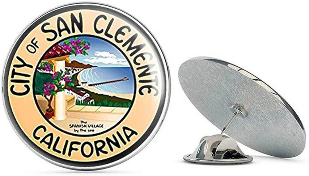 NYC Jewelers City of San Clemente California Seal (Logo ca) Metal 0.75