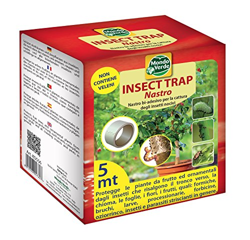 NASTRO BIADESIVO INSECT TRAP MT 5 NO INSETTICIDA FORMICHE SCARAFAGGI DF 6063760