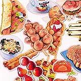 JIAQI Kreative niedliche selbstgemachte Leben lebende Lebensmittel/Lebensmittel Scrapbooking...