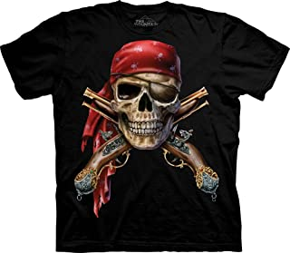 The Mountain Men's Skull and Muskets T-Shirt