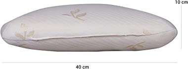 "Zofey Memory Foam Cervical Kitkat Medical Pillow for Sleeping Orthopedic Pillows for Neck Back Pain (20""X12""X3"")"