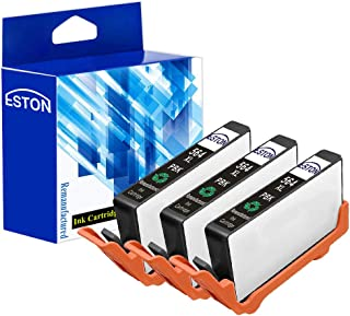ESTON Remanufactured Ink Cartridge Replacement for HP 564XL Photo Black CB322WN High Yield, Fit for Photosmart 7510 7515 C309 C410 Inkjet Printer-(3 Pack)