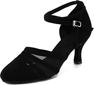 Cheery Ball Women Ballroom Dance Pumps Ladies' Standard and Smooth Shoes