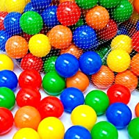 EEVOVEE 50 pcs Medium Size Premium Balls Color Balls for Kids Pool Balls Set of 50 Balls for Baby Kids 6 cm Diameter...