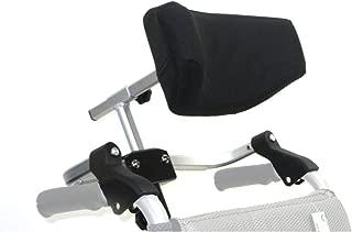 Karman Universal Folding Headrest for Wheelchair, Arctic Silver, Large, 20