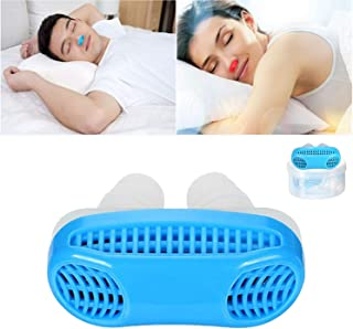 2 in 1 Anti Snoring Device Nose Vents Air Purifier Filter Stop Snore - Anti Snoring Devices to Natural and Comfortable Sleep (Blue)