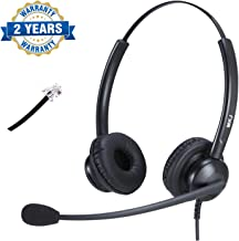 Cisco IP Phone Compatible Headset with Noise Cancelling Microphone RJ9 Corded Phone Headset for Cisco CP-7821, 7841, 8841, 7942G, 7931G, 7940, 7941G, 7945G, 7960, 7961, 7961G, 7962G, 7965 etc