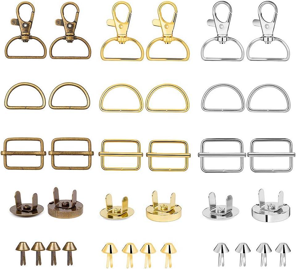 Lesnala 111 pcs Quantity limited Metal Keychain Bulk with Chain Hook Key Swivel Max 84% OFF