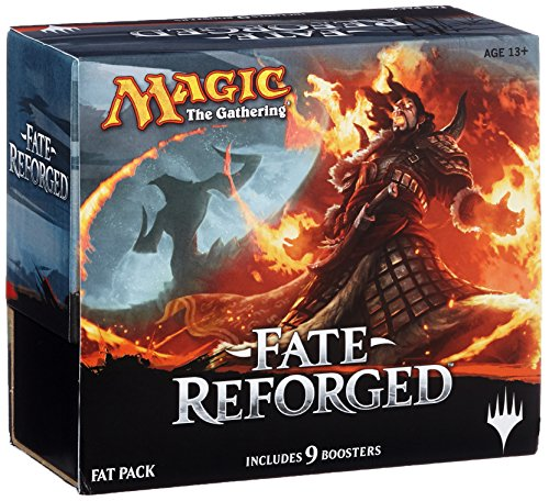 Wizards Of The Coast MTG-FRF-FP-EN - Magic The Gathering - Fate Reforged Fat Pack, Englisch, Kartenspiel