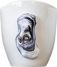 Rock Climbing Mug (Oblong, Black/White swirl)