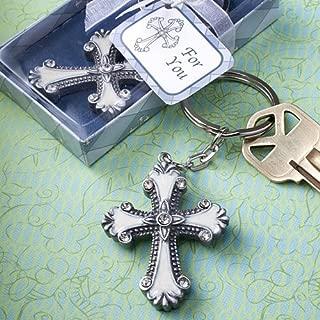Cross design keychain favors [SET OF 12]