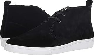 Fred Perry Men's B721 X George Cox Chukka Suede Black 6.5 D UK D (M), Black, Size 40 EU