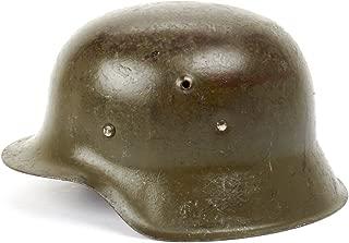 Original German WWII M42 Stahlhelm Steel Helmet- Shell Size 64, Maker Marked