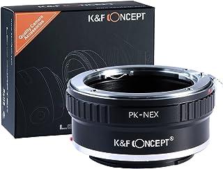 Adaptador PK - NEX K&F Concept Adaptador para Montar la Lente Pentax k a Sony E Cámaras