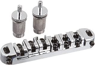 1set BM-06 Locking Tune-o-matic Guitar Bridge Roller Saddle for Gibson LP Replacement