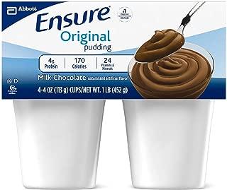 Ensure Pudding Creamy Milk Chocolate Cups 48 X 4oz Case
