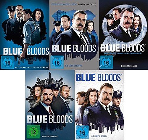Blue Bloods - Season 1-5 im Set - Deutsche Originalware [30 DVDs]