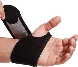 باند مچ دست Neotech Care (1 واحد) - پارچه الاستیک و قابل تنفس - تسمه فشرده سازی قابل تنظیم - آقایان ، زنان ، راست یا چپ - بسته بندی پشتیبانی برای محافظت از ورزش یا ورزش - رنگ مشکی (اندازه M)