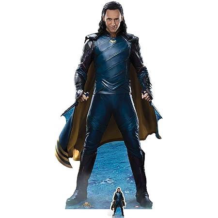 STAR CUTOUTS SC1055 - Recorte de cartón con diseño de Loki de Marvel (Tom Hiddelston)