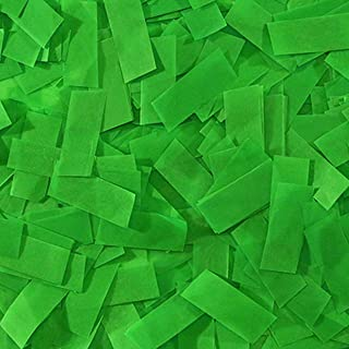 Ultimate Confetti Dark Green Tissue Confetti-Biodegradable-Great for Parties-Sporting Events-Performances-Christmas Decor