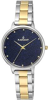 Reloj analógico para Mujer de Radiant. Colección Meteorito. Reloj Bicolor Plateado y Dorado con la Esfera en Azul. 3ATM. 3...