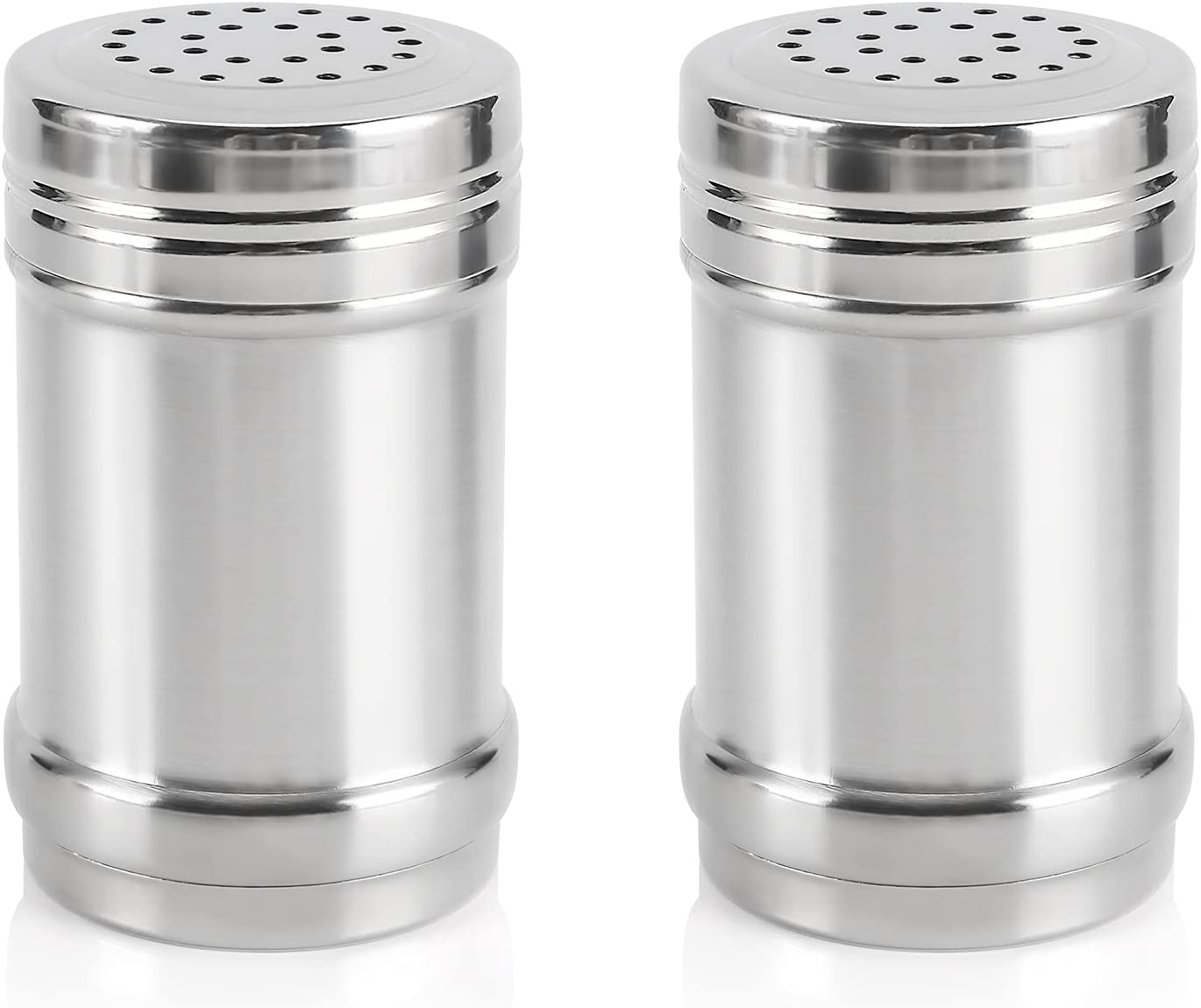 Accmor 2pcs Special Campaign Salt and Pepper Steel Max 63% OFF Shakers Shaker Stainless for