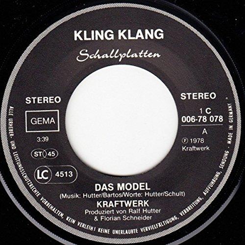 Kraftwerk – Das Model / The Model – Kling Klang – 1 C 006-78 078, EMI Electrola – 1C 006-78 078 - 3