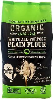 Honest to Goodness Organic Unbleached White All-Purpose Plain Flour, 2kg