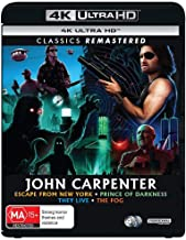 Escape From New York / They Live / The Fog / Prince of Darkness John Carpenter 4K Collection