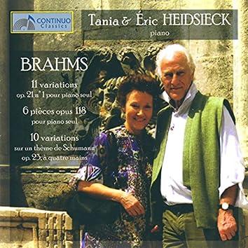 Johannes Brahms: Tania et Eric Heidsieck