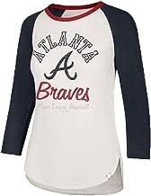 '47 Brand Women's Splitter 3/4 Long Sleeve Raglan Tee Shirt - MLB Ladies LS T-Shirt