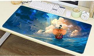 Alfombrillas De Ratón One Piece Gaming Mouse Pad 80X30Cm Gran Teclado De Goma De La Historieta del Animado del Ordenador M...