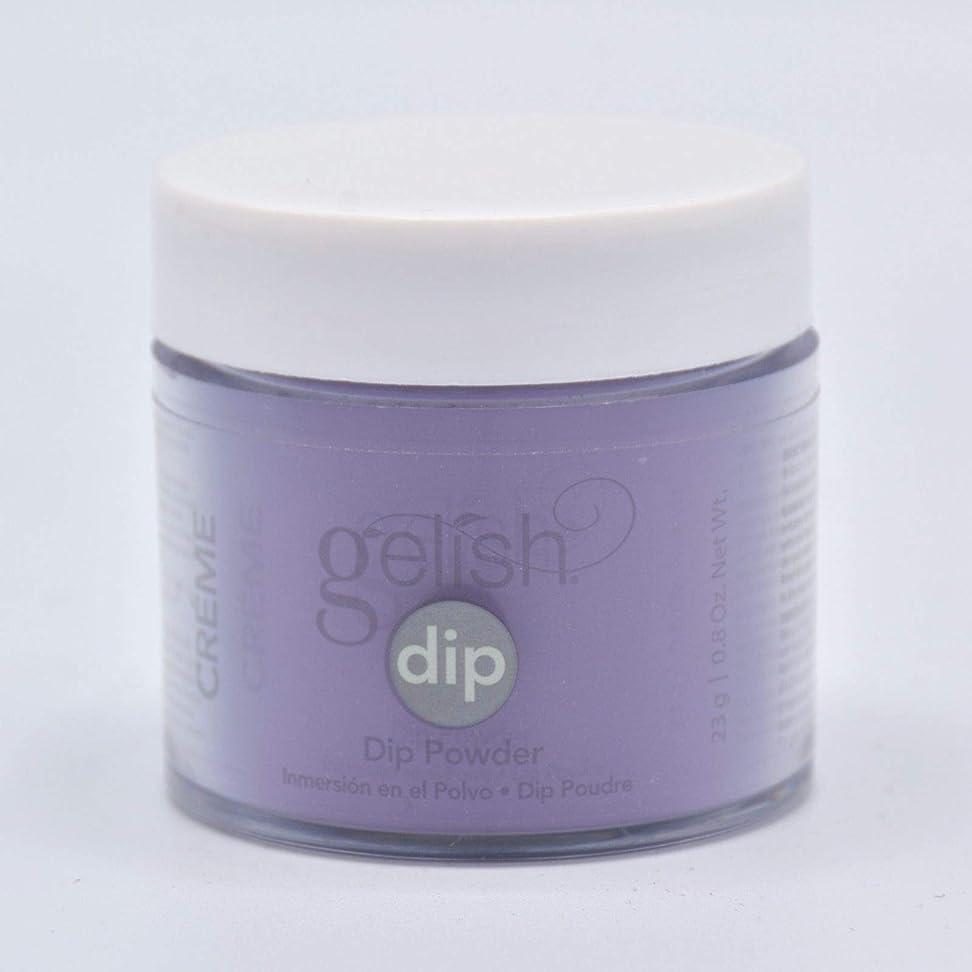 ソビエトライラック位置するHarmony Gelish - Acrylic Dip Powder - Black Cherry Berry - 23g / 0.8oz