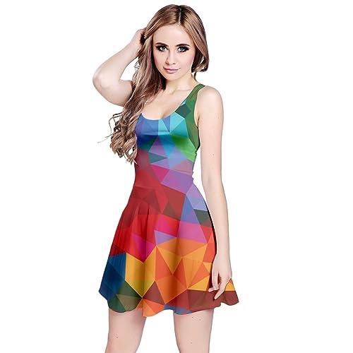 c38afdcfbe11d Colorful Dress: Amazon.com