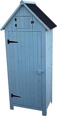 Mueble de madera jardín Brighton exterior o galpón en mamografía