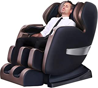 A600 Deluxe Zero Gravity Massage Recliner Chair Full Body with Heating Therapy On The Back, S-Track Roller and Full Body Air Massage