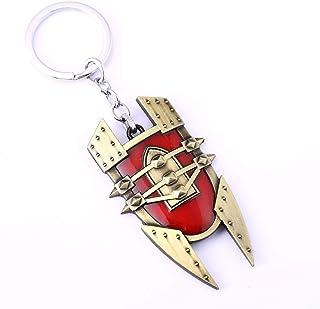 LOL League of Legends Key Ring Alchemist Singed Shield Keychain