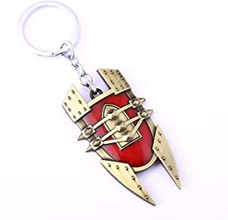 LOL League of Legends Key Ring Alchemist Singed Shield Keychain