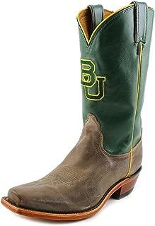 Nocona LDBU22 Womens Baylor Tan Vintage/Green College Boots