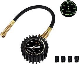LEEKOO Elite Mechanical Tire Pressure Gauge 60 PSI with 2