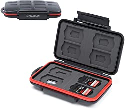 iFlight Memory Card Case Professional Water-Resistant Anti-Shock Holder Storage SD SDHC SDXC TF Protector Cover for SD Car...