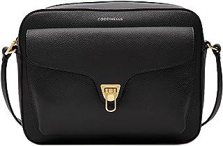 Coccinelle Damen-Umhängetasche Beat Soft Medium Leder Noir IF6150401001