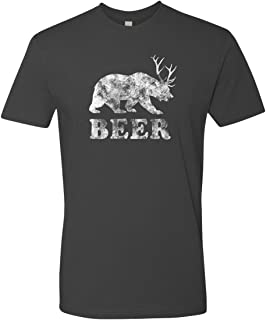 Men's Beer T-Shirt   Beer Bear Deer