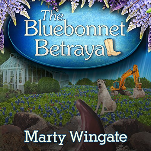 The Bluebonnet Betrayal audiobook cover art