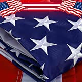 Best American Flag 3x5 Outdoors - Freefy American Flag 3x5 ft - Embroidered Stars,Sewn Review