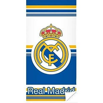 Real Madrid RM171155 - Toallas, Azul, 70x140 cm: Amazon.es: Bebé