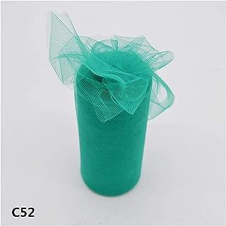 15cm 22M Tulle Roll Wedding Decoration Roll Fabric Spool Craft Tulle Fabric Dress DIY Silk Organza Party Supplies,C52