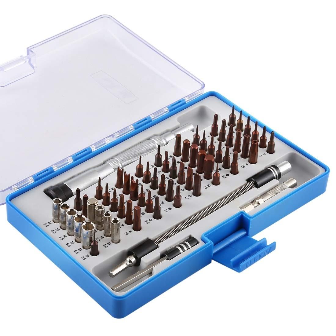 iPartsBuy Screwdriver Repair Tool TG6400 64 in 1 Professional Screwdriver Repair Tool Set